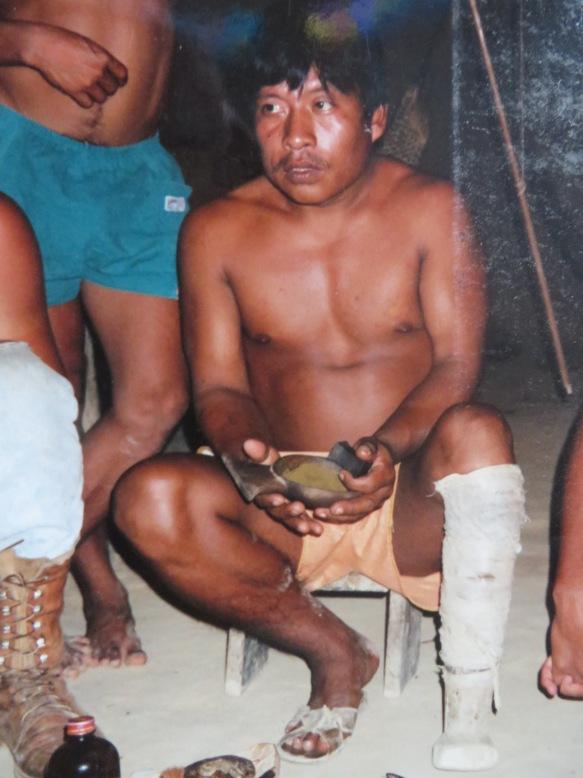 Shaman of a tribe in Venezuela.